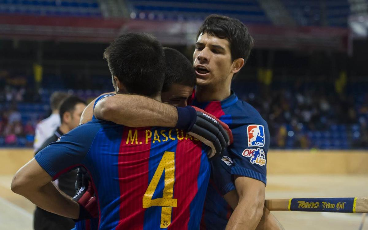 FC Barcelona Lassa - Reus Deportiu La Fira: Locura que hace volar los primeros puntos (6-6)