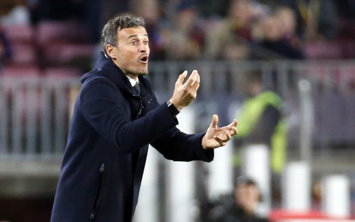 Luis Enrique: The players were quick and precise