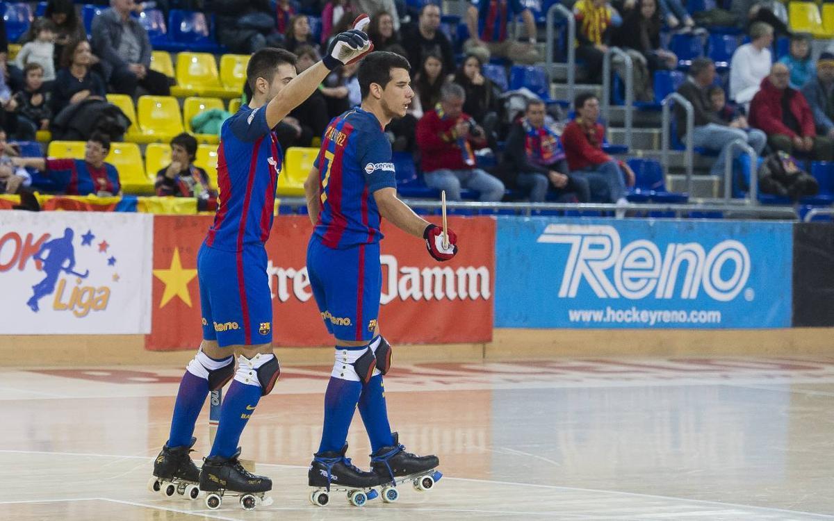 Cafès Novell Vilafranca – FC Barcelona Lassa: Rompen la resistencia para ampliar la racha (5-7)