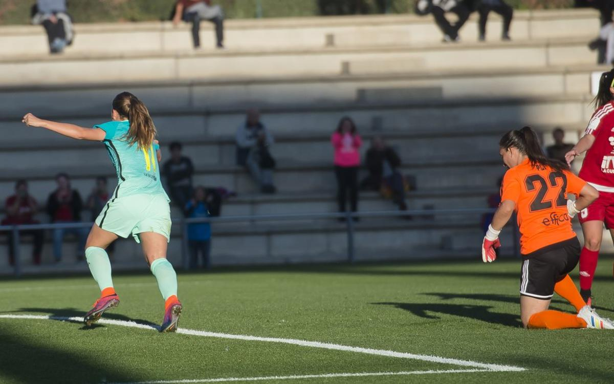 Barça Femení - Tacuense: Triomf vital abans de la Champions (3-0)
