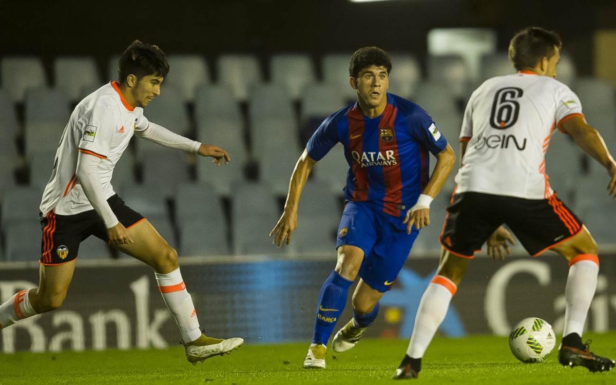 Compromisos internacionals també pel Barça B i Juvenil A
