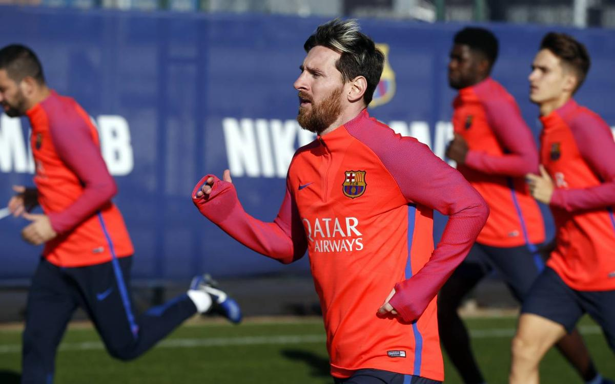 Nine from FC Barcelona B join Wednesday training