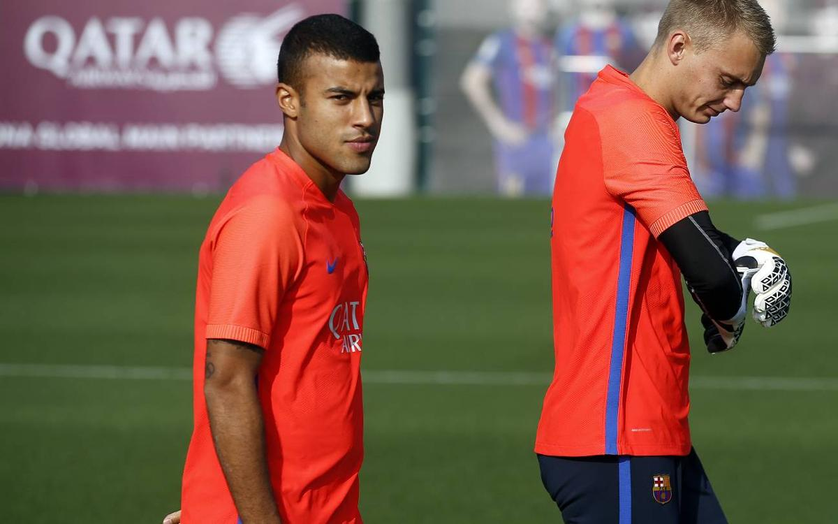 Rafinha and Cillessen declared fit and in FC Barcelona squad versus Granada