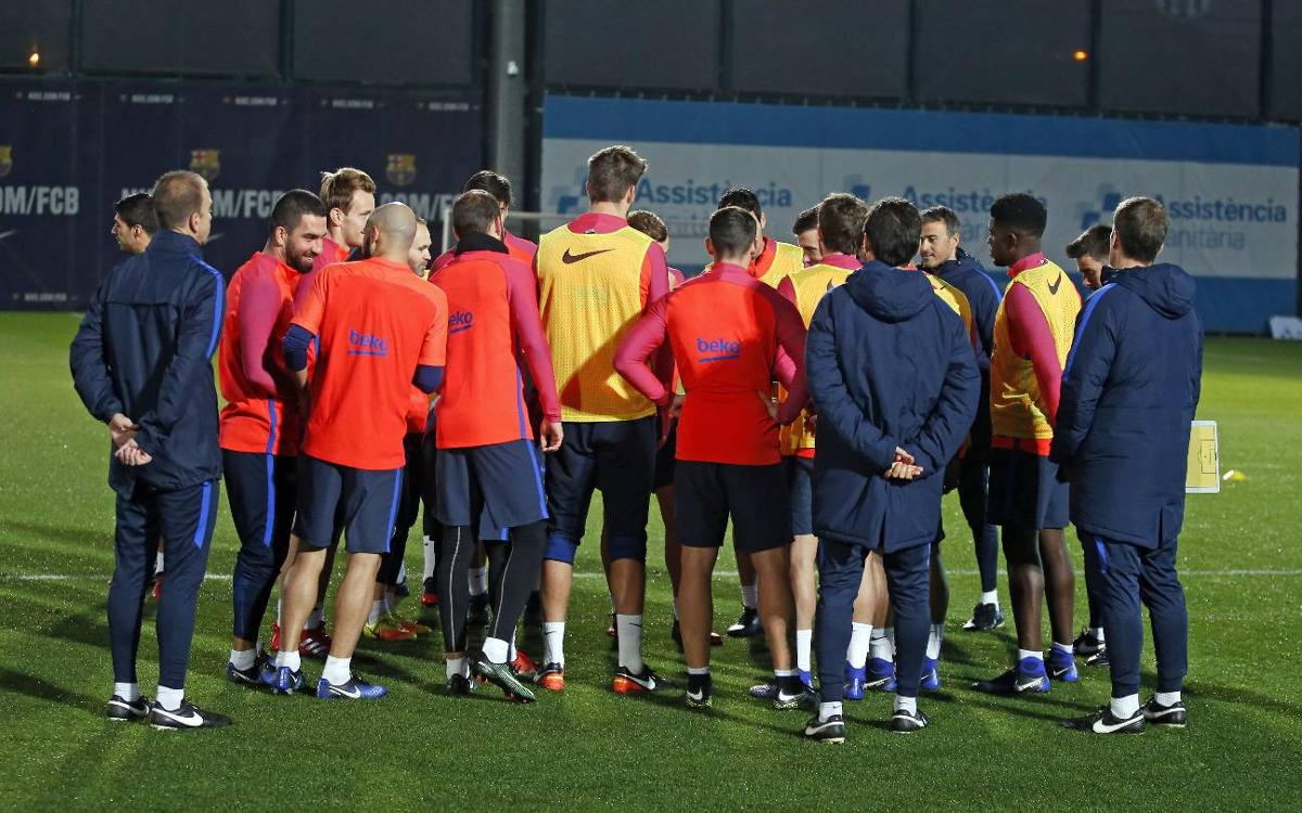 FC Barcelona squad announced for Pamplona