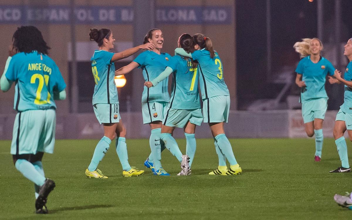 Oiartzun KE – FC Barcelona Femení (prèvia): Traca de final d'any