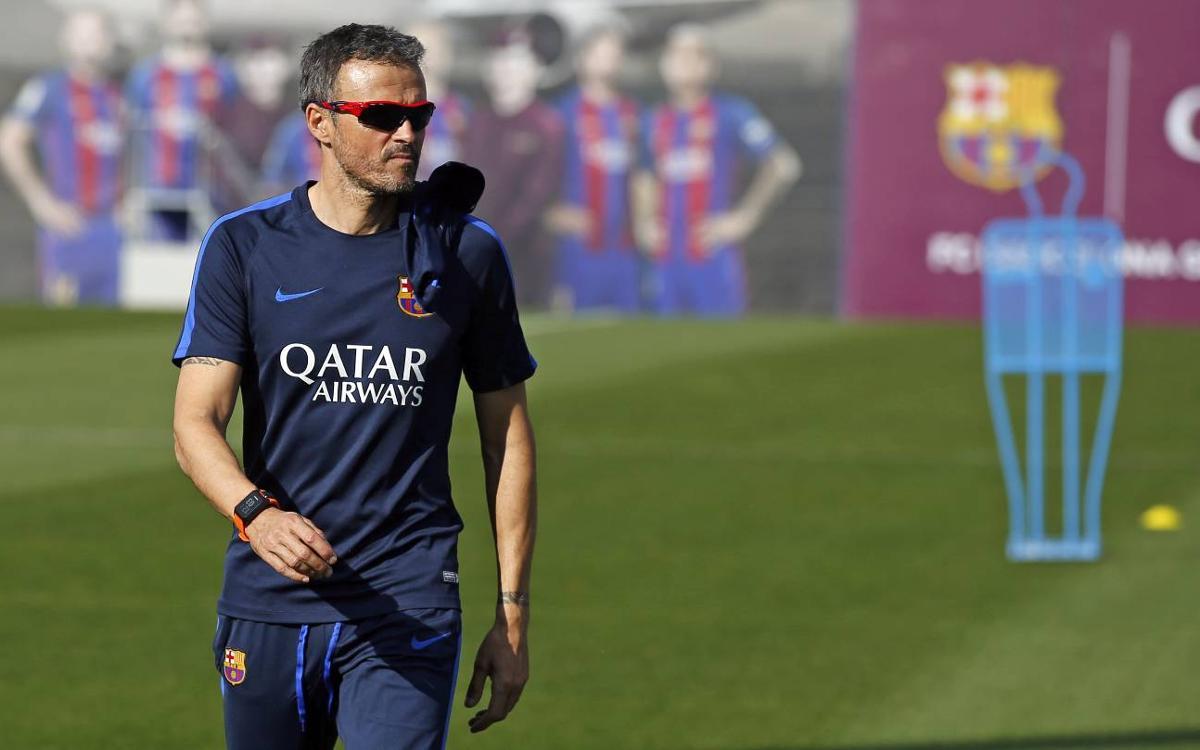FC Barcelona manager Luis Enrique wary of 'confident' Málaga