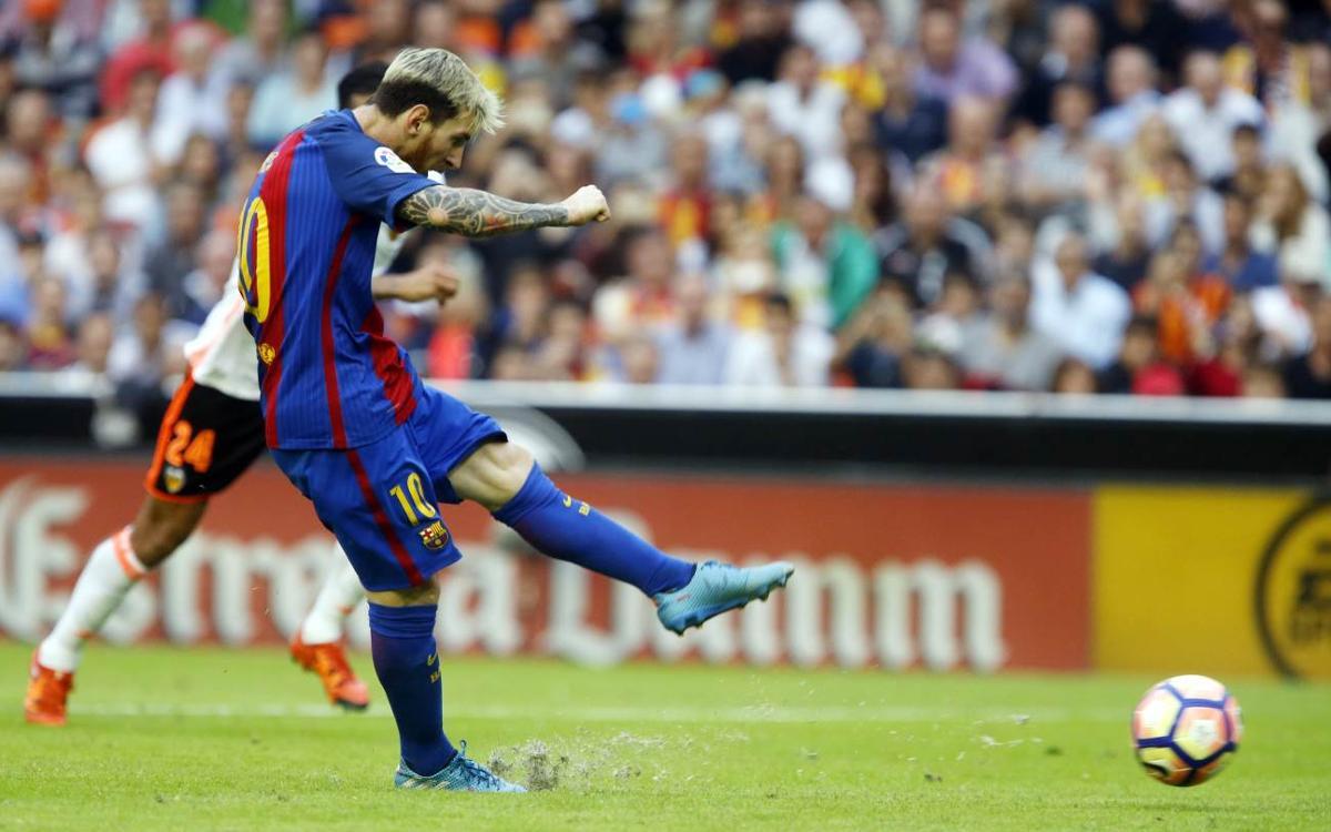Messi i Luis Suárez, Pitxitxis de la Lliga