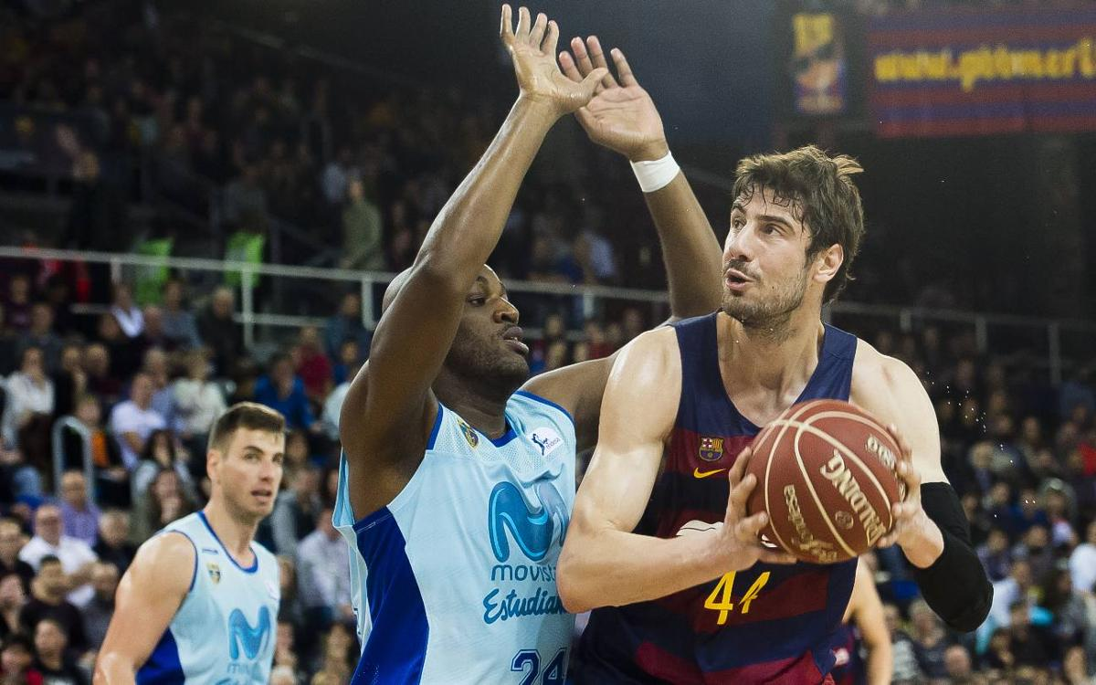 FC Barcelona Lassa v Movistar Estudiantes: Back to winning ways (92-80)