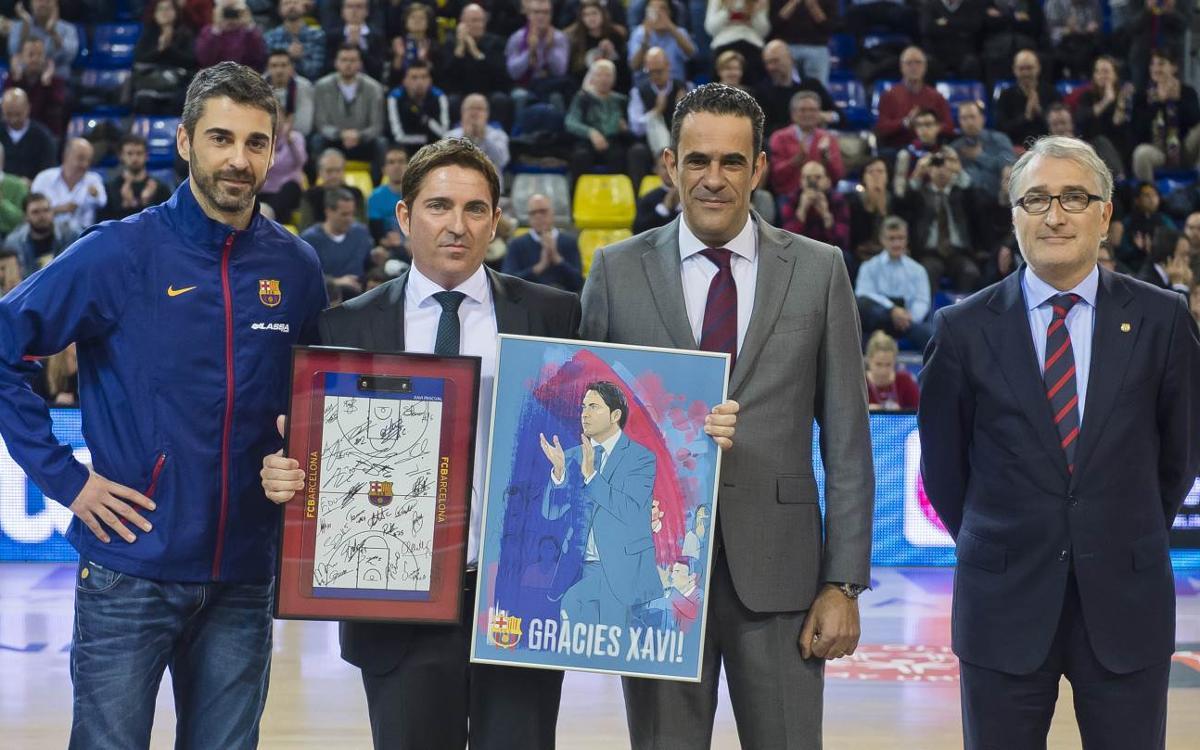 El Barça Lassa homenatja Xavi Pascual