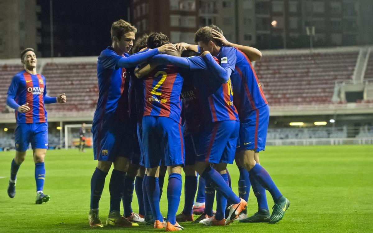 FC Barcelona B 4-0 CE L'Hospitalet: Solid win for the leaders