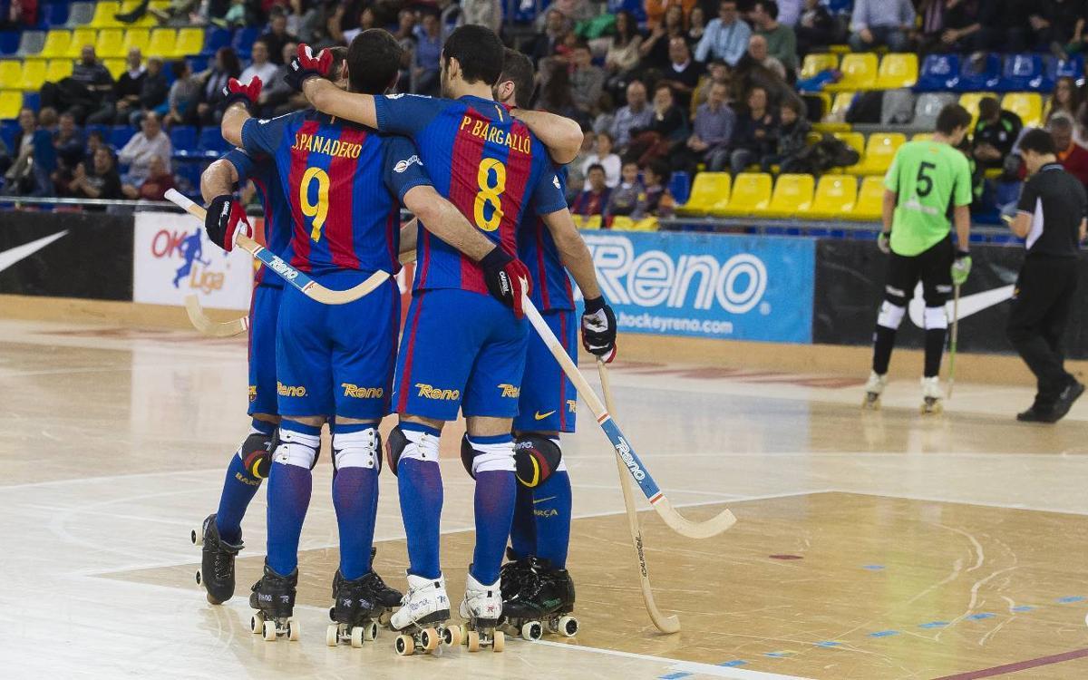 FC Barcelona Lassa 8-0 CH Lloret Vila Esportiva: Ten out of ten (8-0)