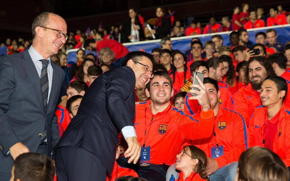El FC Barcelona mostra la seva vocació poliesportiva a la presentació de les seccions amateurs