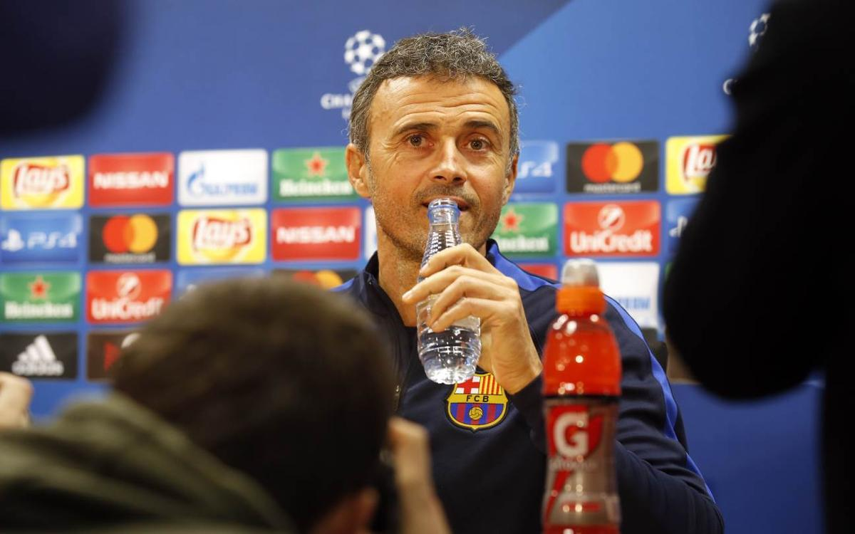 FC Barcelona want to win Champions League game, but don't need to