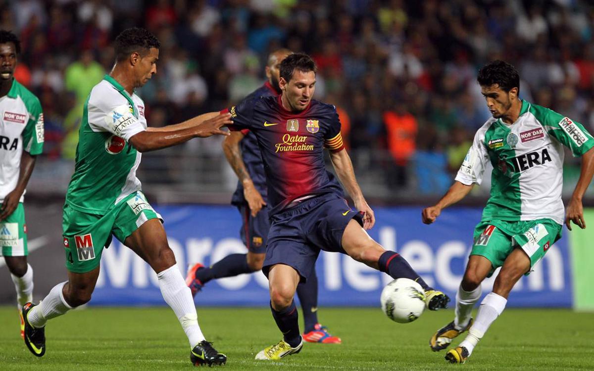 El FC Barcelona, ante los equipos árabes