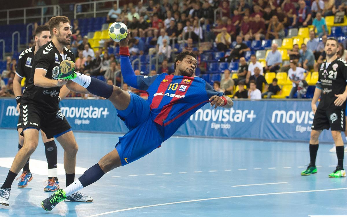 El Barça d'handbol i l'handbol francès