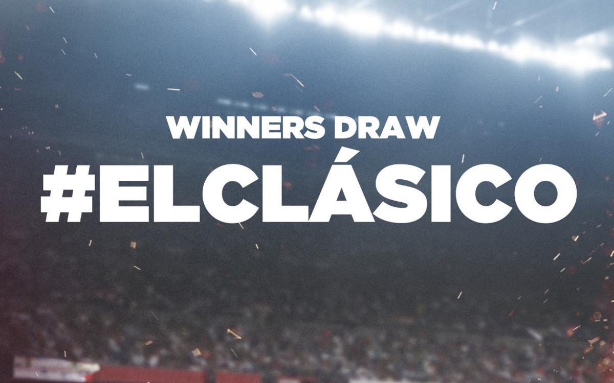 Descubre la experiencia en el Clásico de los ganadores de Barça Fans