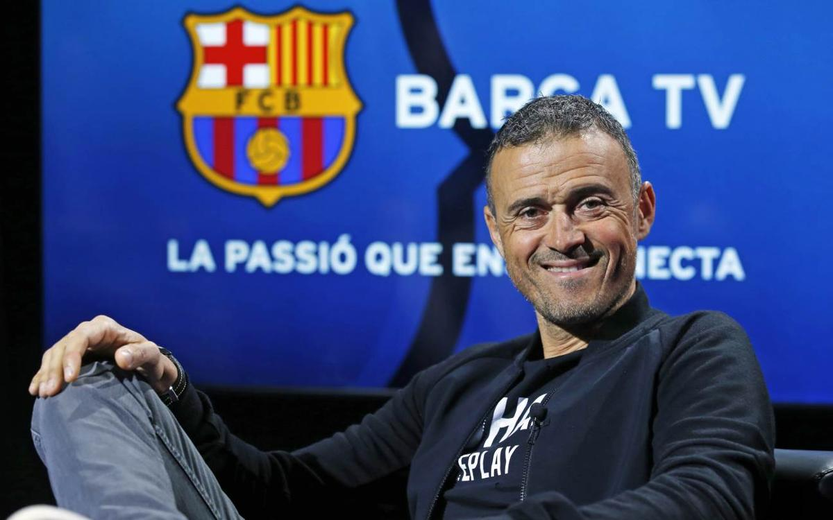Exclusive interview with Luis Enrique