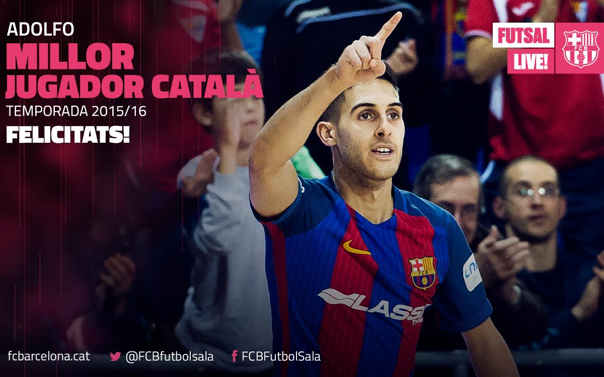 Adolfo, millor jugador català