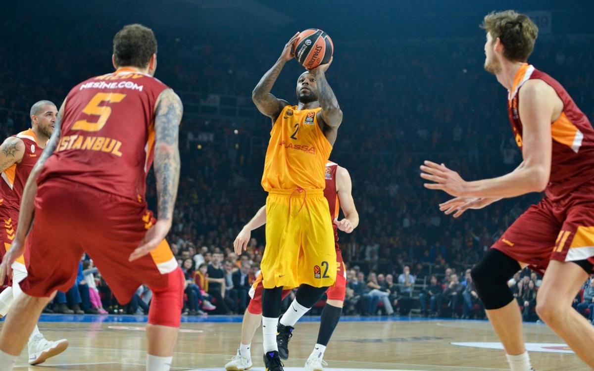 Galatasaray Odeabank Istanbul v FC Barcelona Lassa: Third Euroleague loss on the trot (78-64)