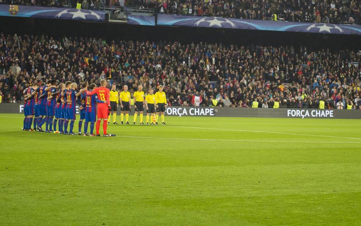 El FC Barcelona invita al Chapecoense al Trofeo Joan Gamper 2017