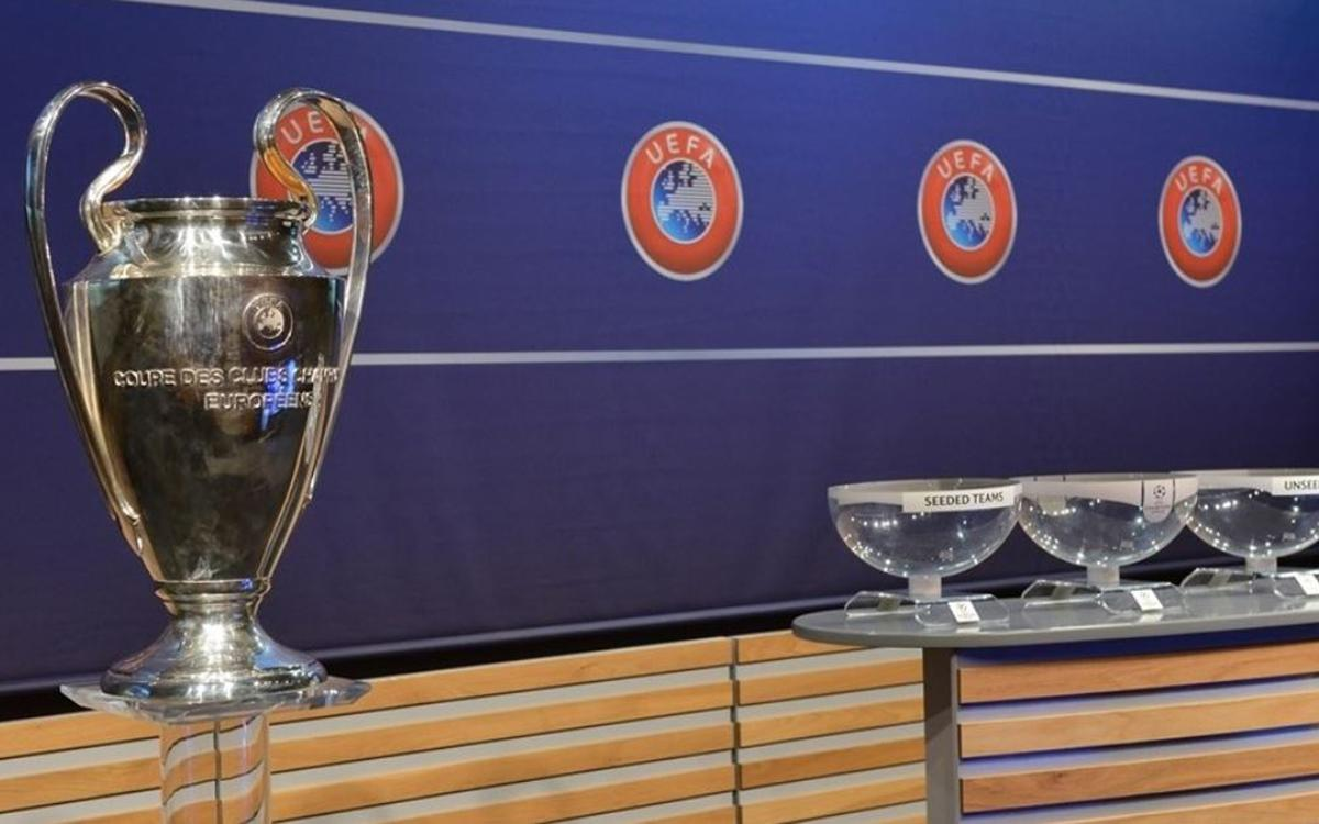 All set for the Champions League draw
