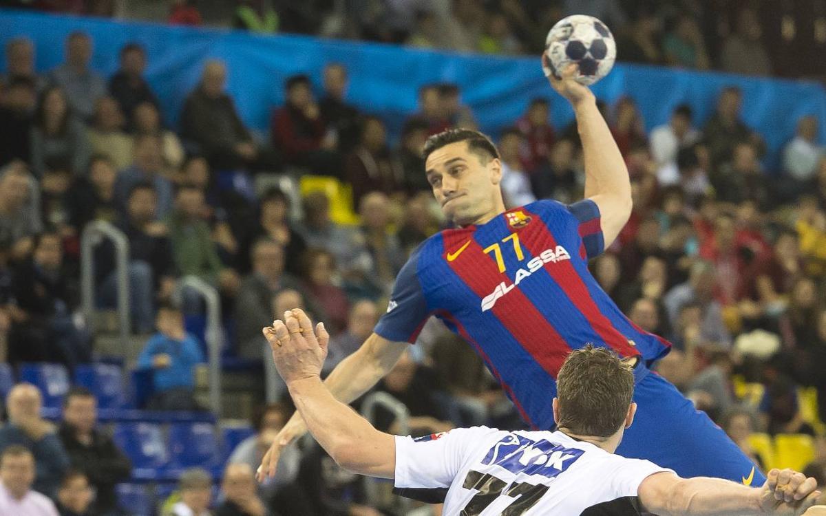 FC Barcelona Lassa- Silkeborg: Contundència i gols per continuar colíders (34-19)