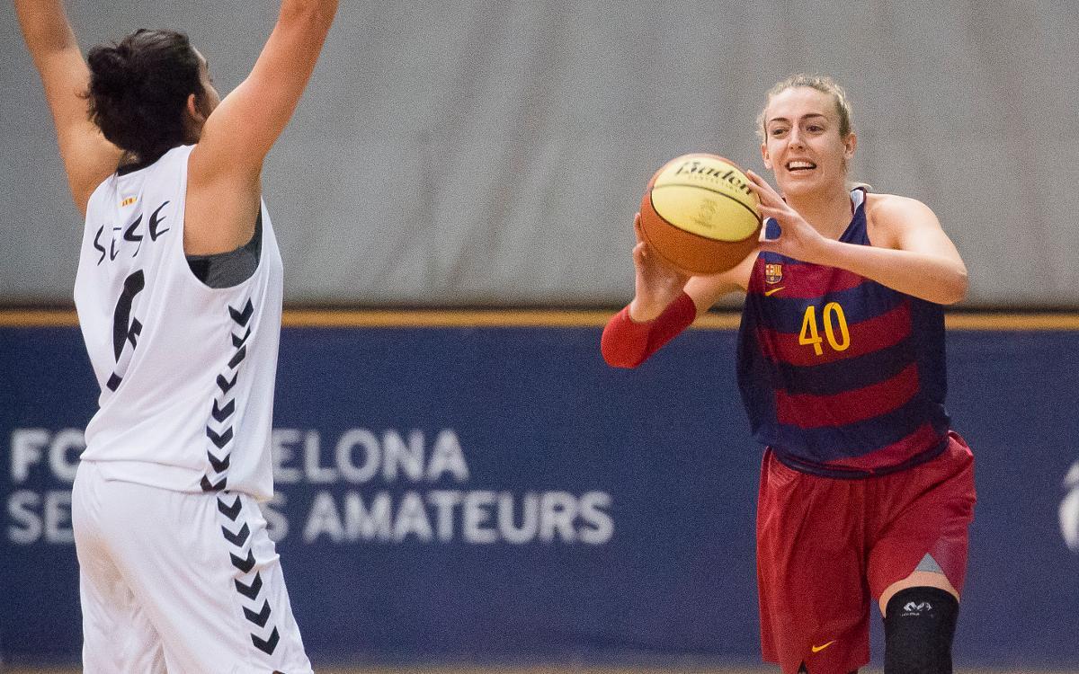 Trabajada victoria del Barça CBS en Cerdanyola (45-50)