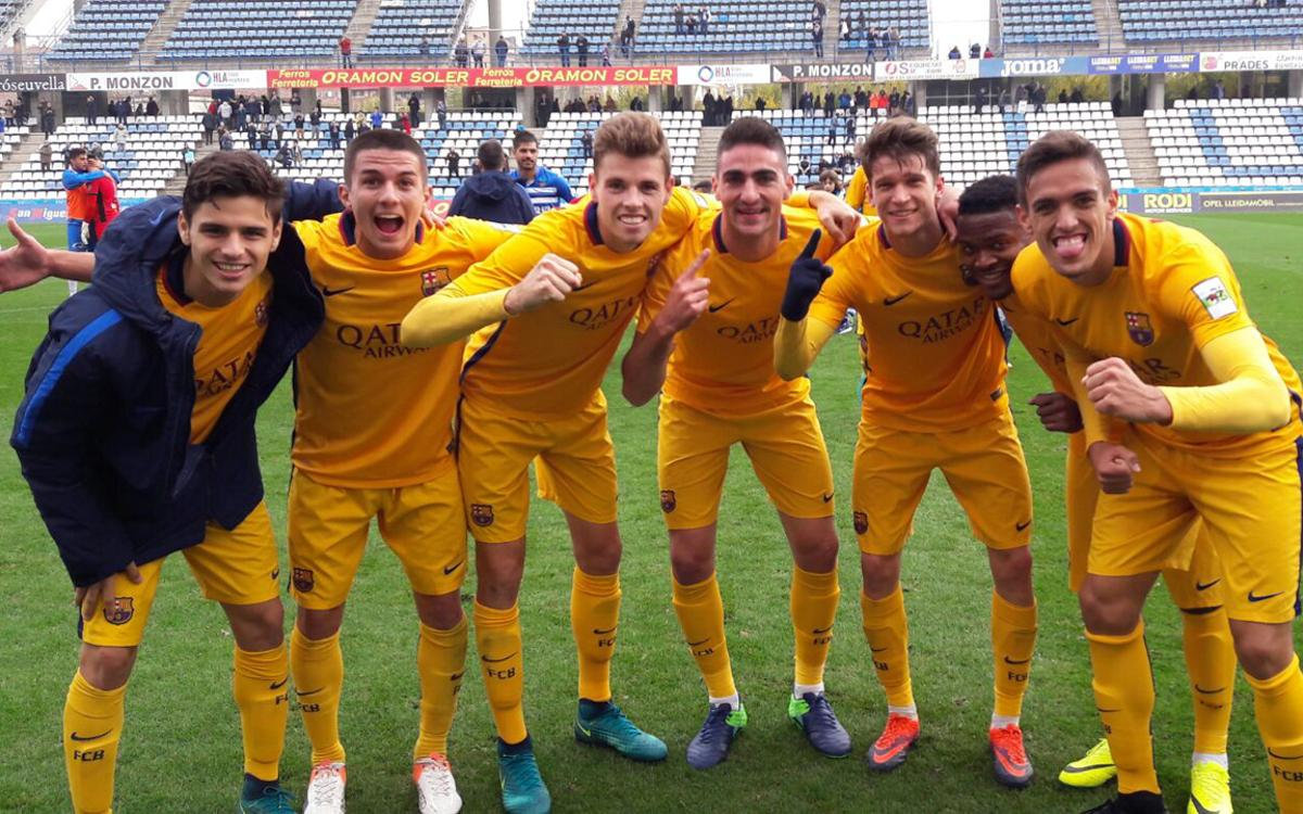 Lleida Esportiu v Barça B: Back to the top of the table (0-2)