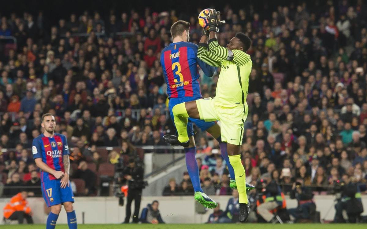 FC Barcelona - Màlaga CF: Doble muro imposible de batir (0-0)