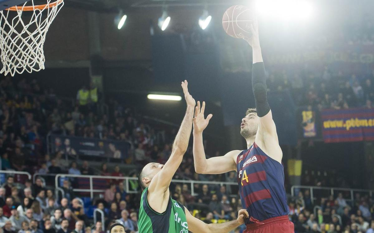 FC Barcelona Lassa v Divina Seguros Joventut: Nail biting victory in the derby (79-77)