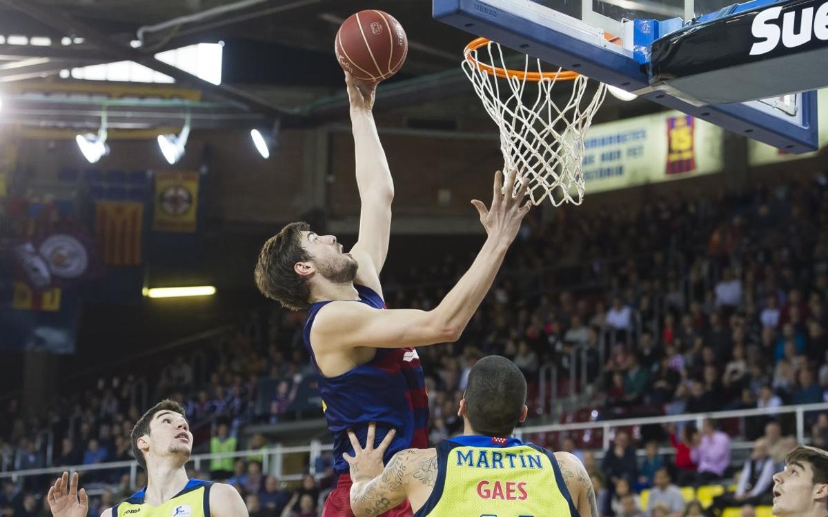 FC Barcelona Lassa - Movistar Estudiantes: Canvi de xip obligat