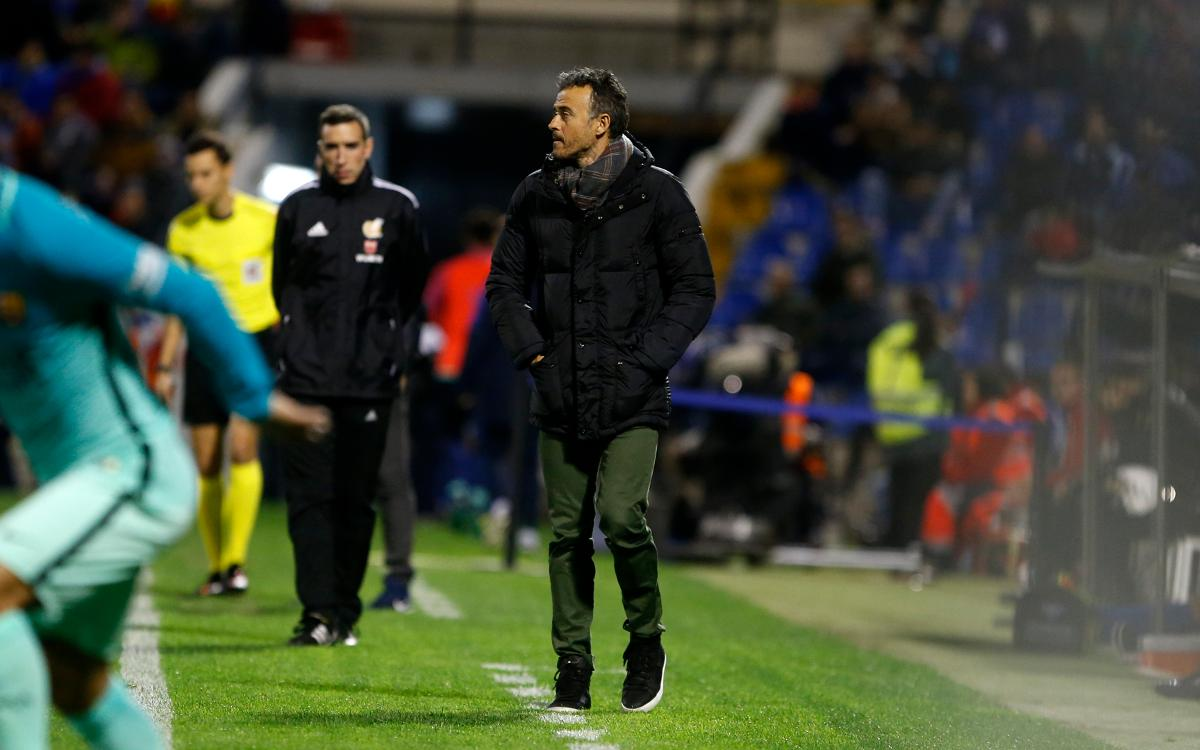 Luis Enrique: These games are difficult to close out