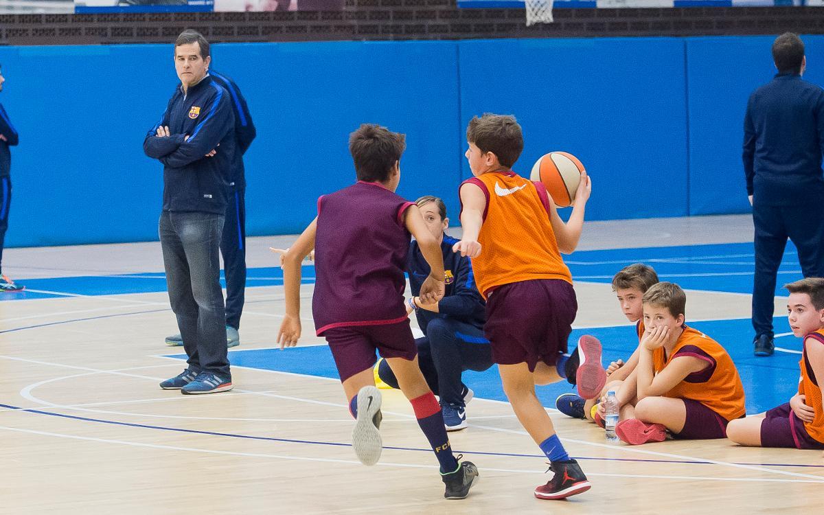 El Campus de Nadal de la FCBEscola inaugura la sección de baloncesto