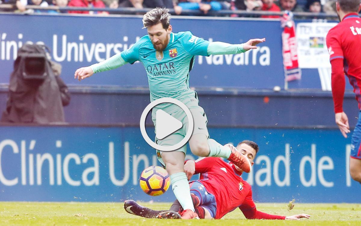 [LLIGA] El resum de l'Osasuna - FC Barcelona