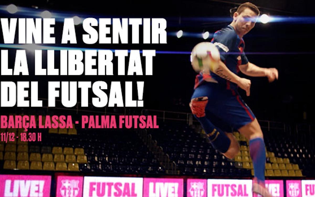 El Barça de Futbol Sala estrena anunci
