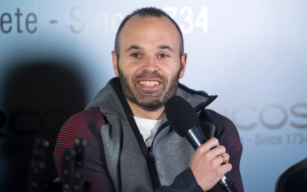 Andrés Iniesta: We have the squad to compete for everything
