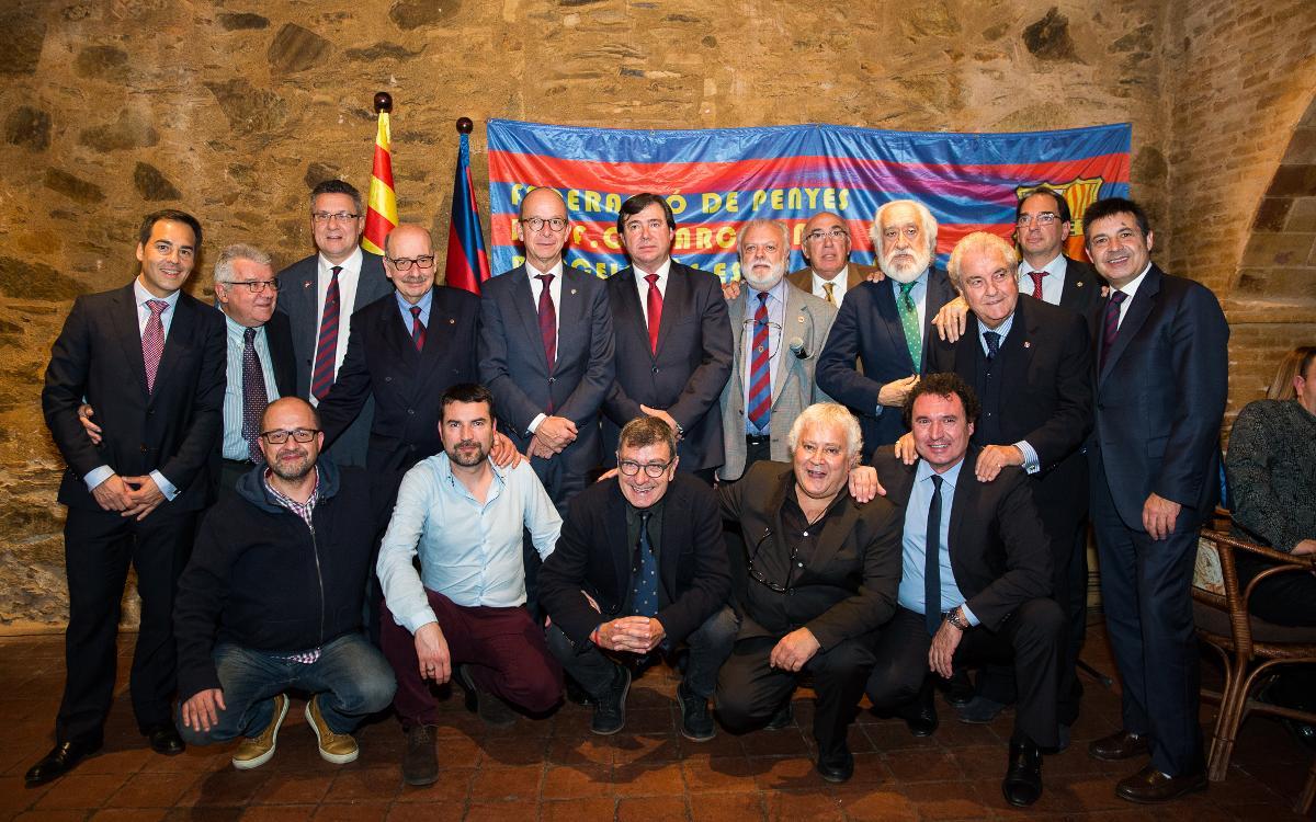 Premios, homenajes y reconocimientos en una emotiva IX Nit de les Penyes