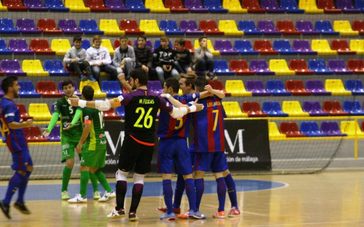 El filial conquista el liderato en Antequera (1-3)
