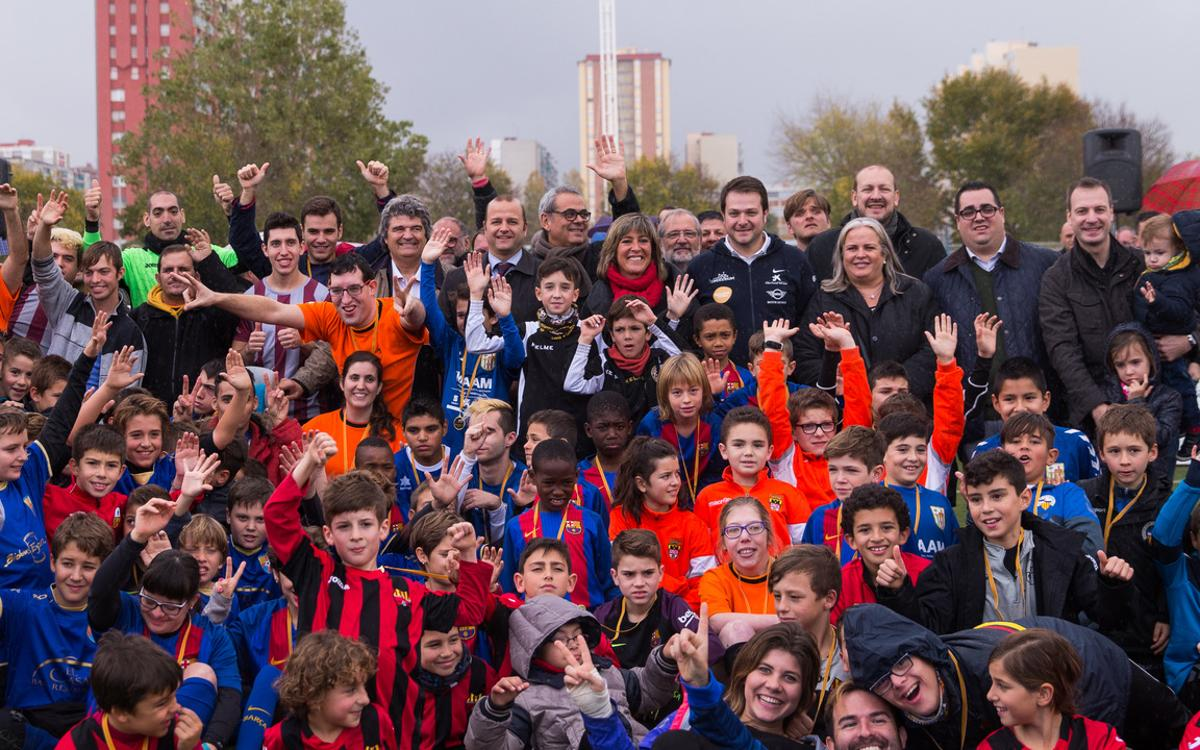 La gran festa del futbol inclusiu