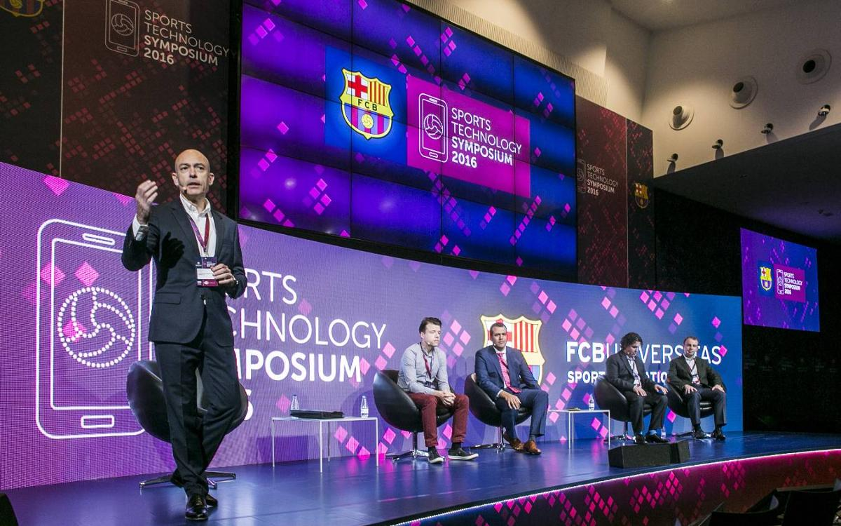 Successful second and final day at the 2016 Sports Technology Symposium hosted by FC Barcelona