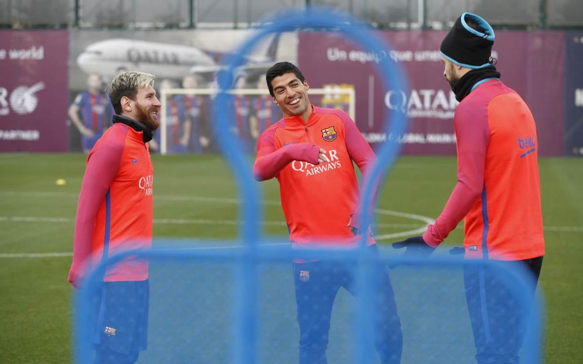 Final preparations ahead of the trip to Anoeta