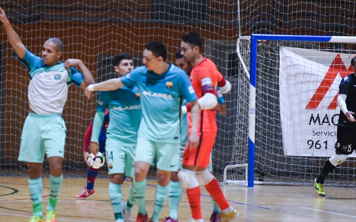 Llevant – Barça Lassa: Triomf amb contundència (1-5)
