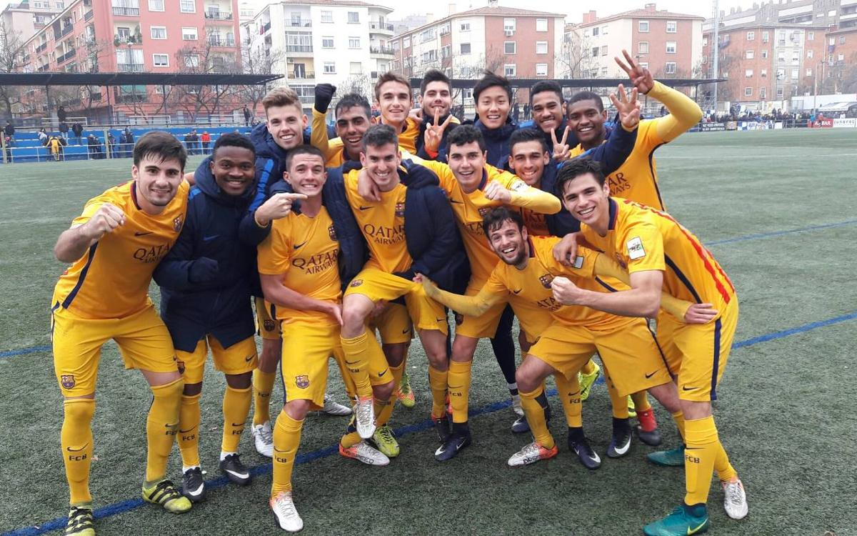 CD Ebro v Barça B: Winter champions! (1-2)