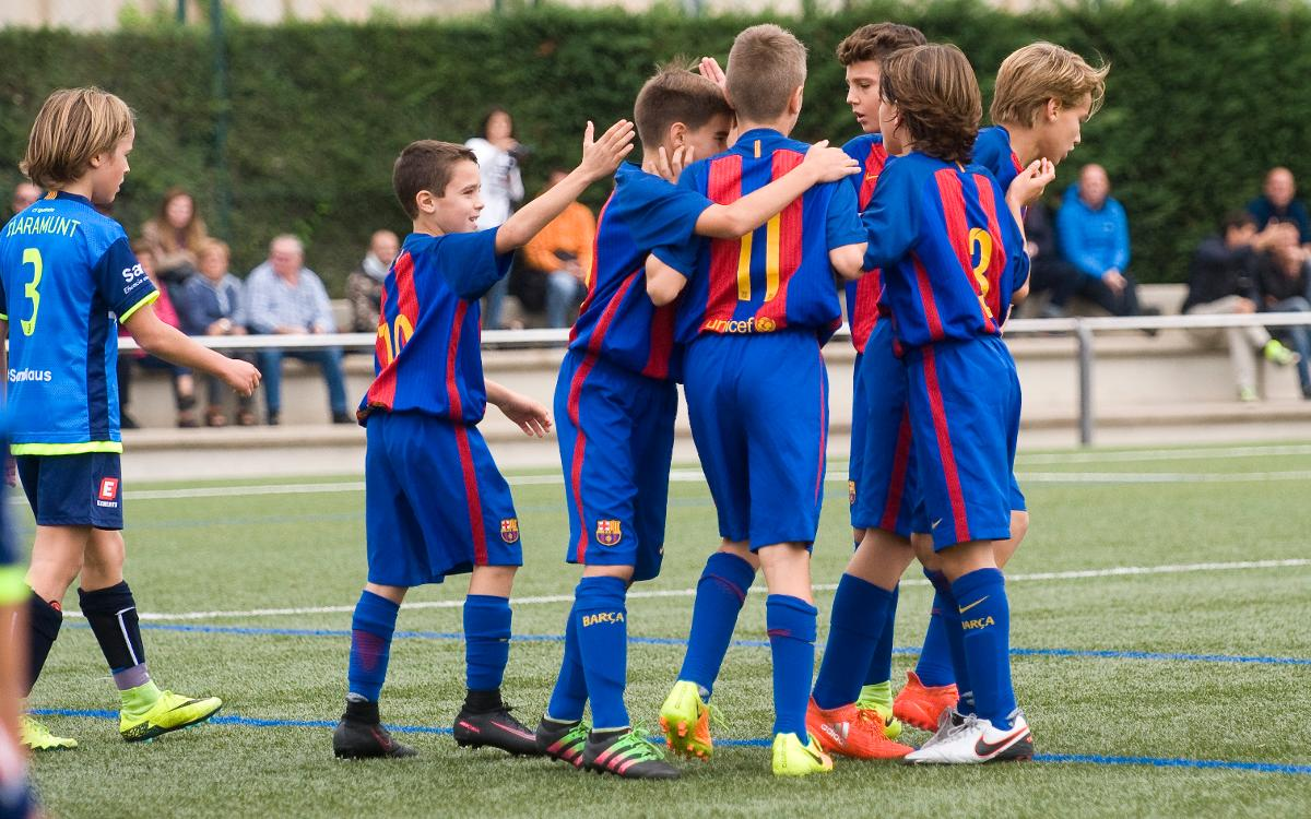 Top five FC Barcelona youth team goals of the weekend