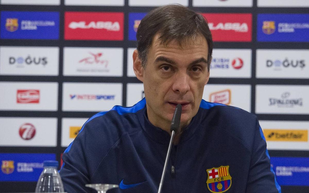 """Bartzokas: """"El partit contra el Milà és vital"""""""