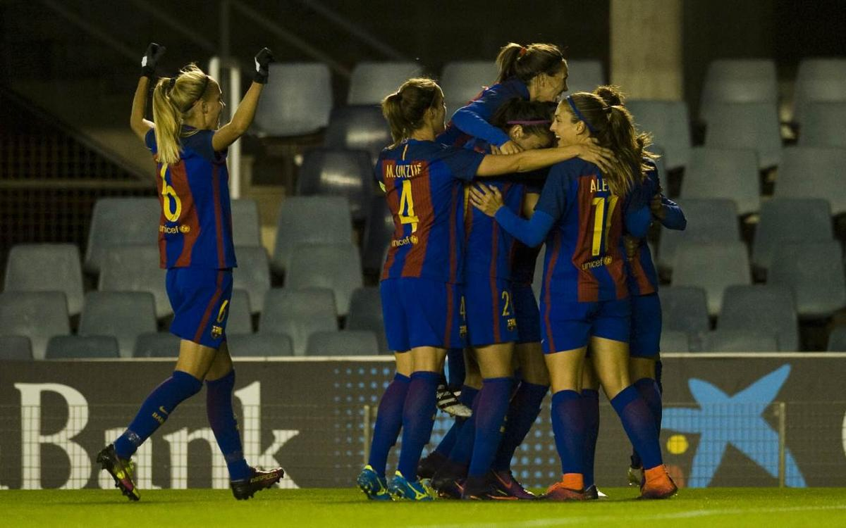 FC Barcelona Women v FC Twente: Hermoso beauty gives first leg advantage (1-0)