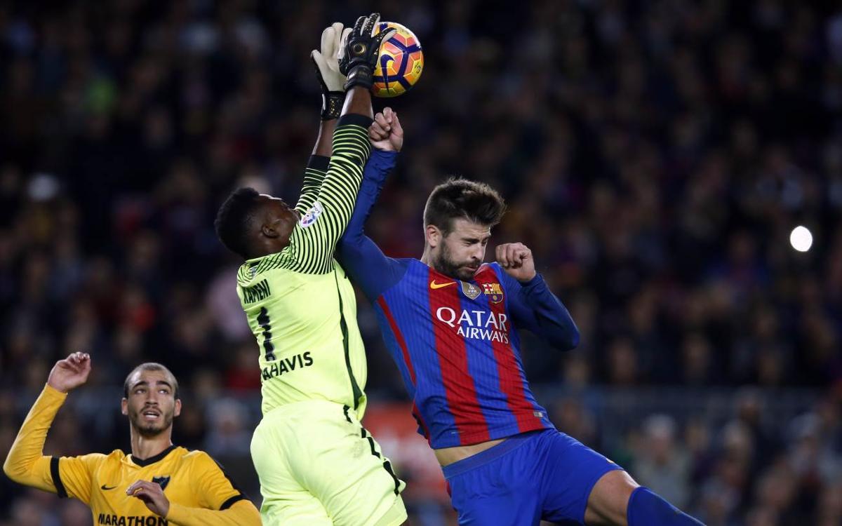 FC Barcelona 0-0 Málaga CF: Deadlocked