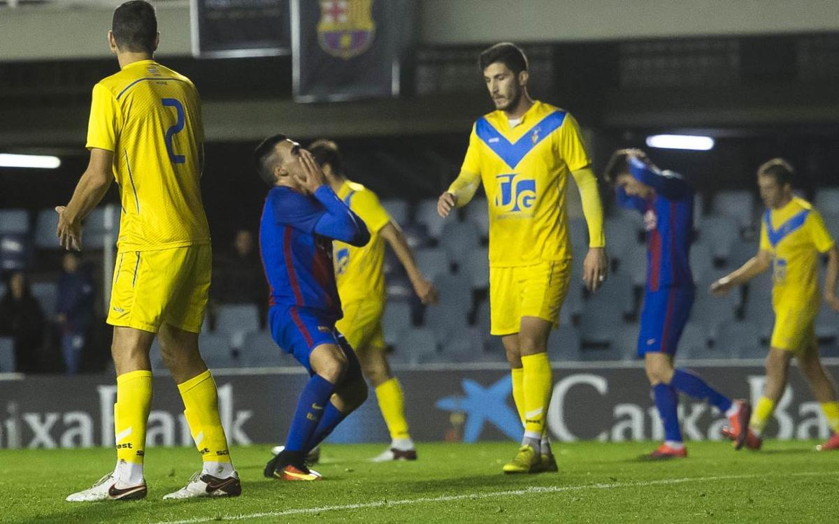 FC Barcelona B v CF Badalona: Run comes to an end (1-3)