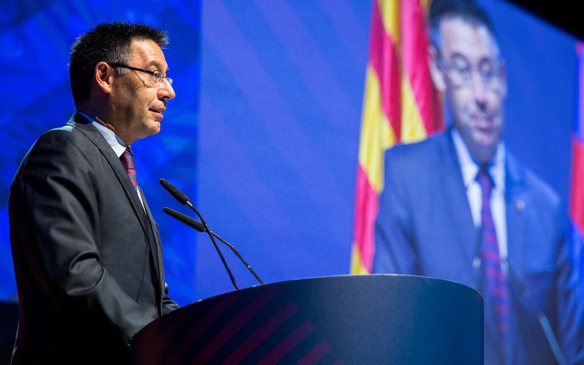 Josep Maria Bartomeu estarà al costat de la Gran Penya de Tarragona i Província en el seu 50è aniversari