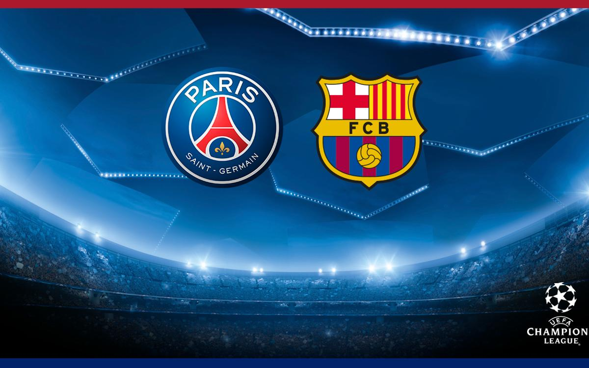 FC Barcelona to face Paris Saint-Germain in the last 16 of the Champions League